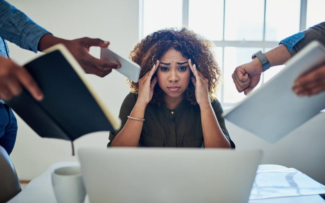 Poor managers can make their staff ill
